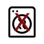 Do Not Tumble Dry Icon