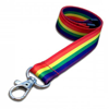 Premium Smooth Rainbow Lanyard
