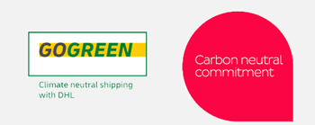 DHL GoGreen Logo & DPD Carbon Neutral Commitment
