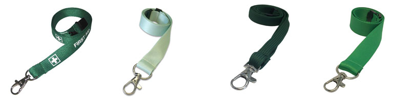 green lanyard options