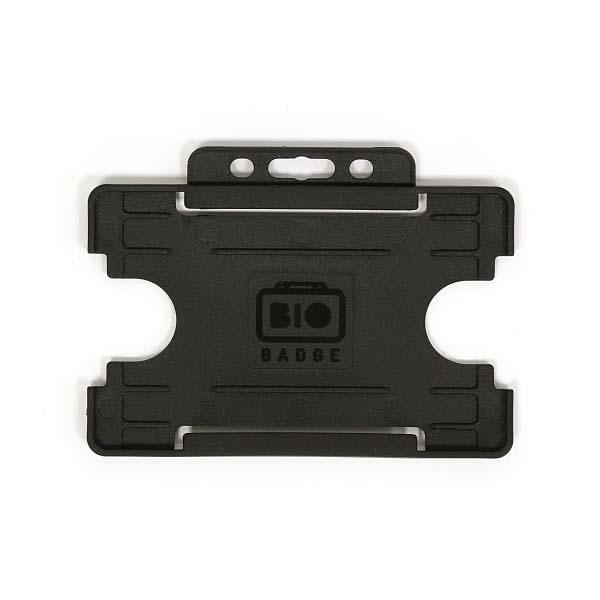 Black Biodegradable ID Card Holder