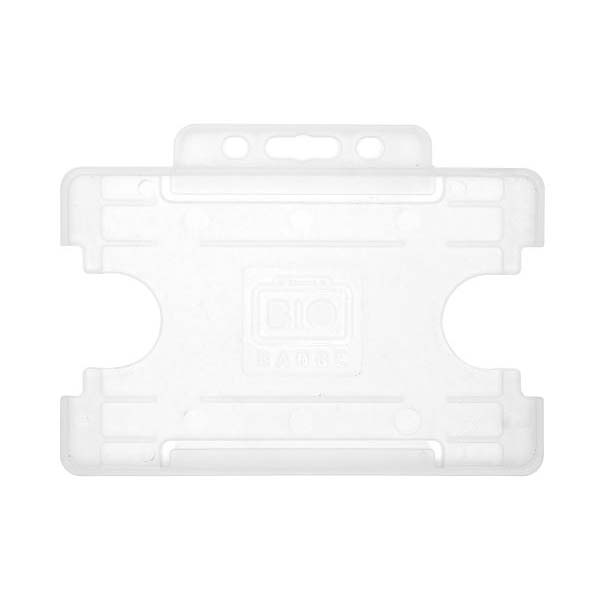 Clear Biodegradable ID Card Holder