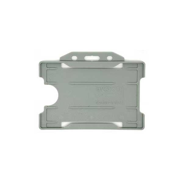 Grey Antimicrobial ID Card Holder