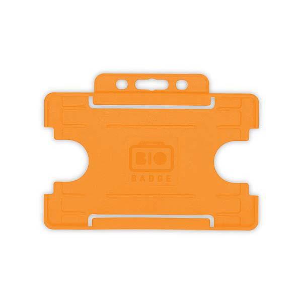 Orange Biodegradable ID Card Holder