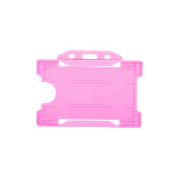 Pink Antimicrobial ID Card Holder