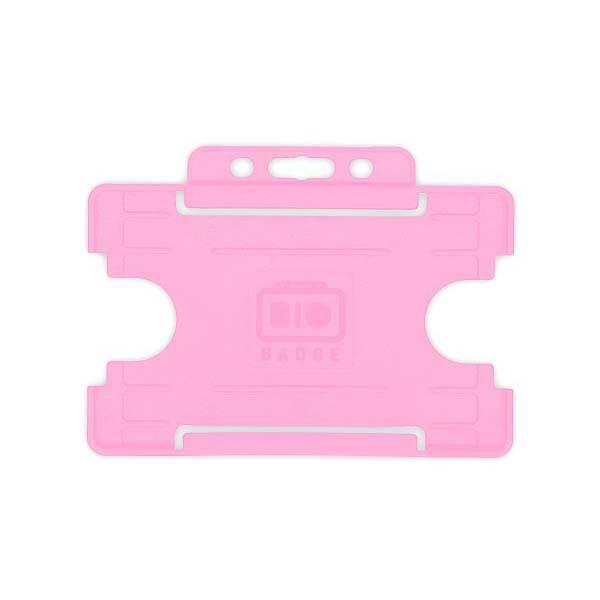Pink Biodegradable ID Card Holder