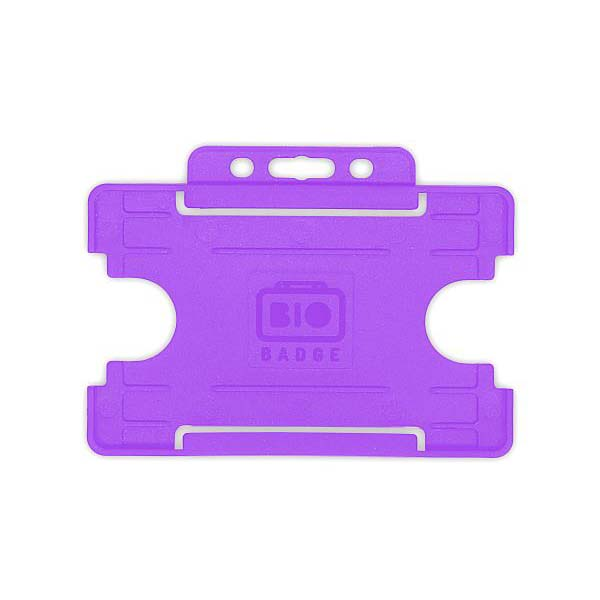 Purple Biodegradable ID Card Holder