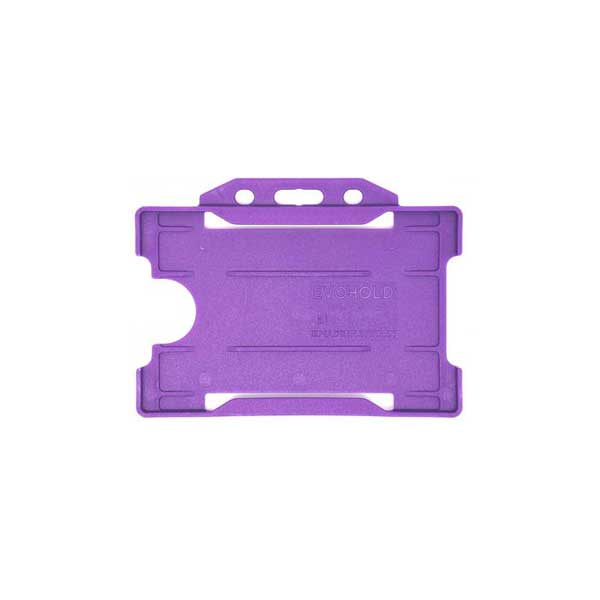 Purple ID Card Holder