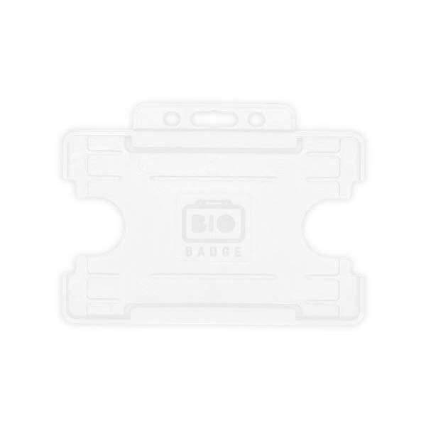 White Biodegradable ID Card Holder