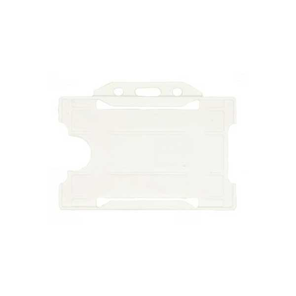 White ID Card Holder
