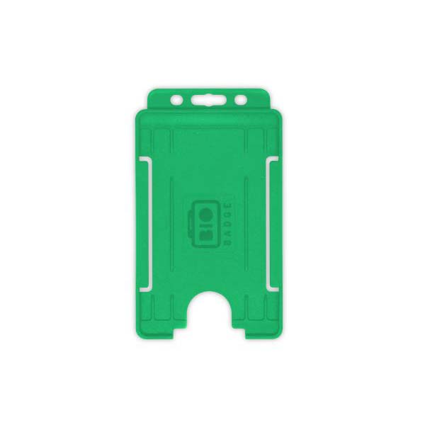 Green Biodegradable ID Card Holder
