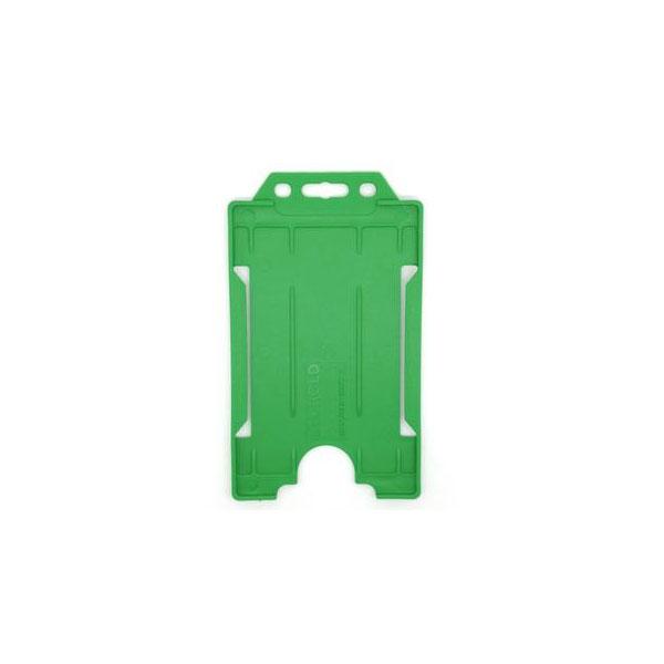 Green Portrait ID Card Holder