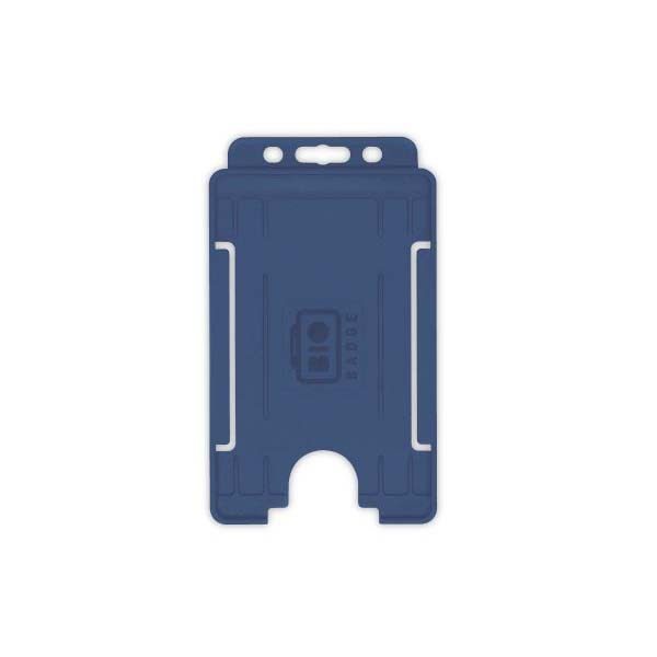 Navy Blue Biodegradable ID Card Holder