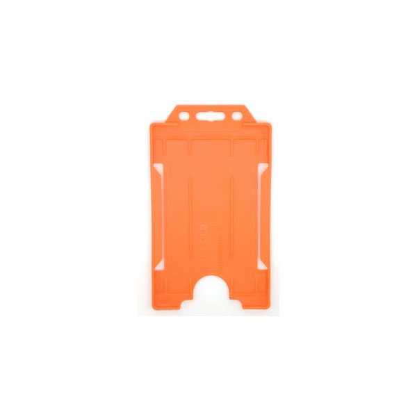 Orange Antimicrobial ID Card Holder