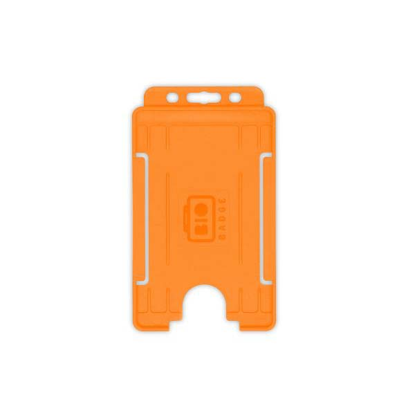 Orange Biodegradable ID Card Holder