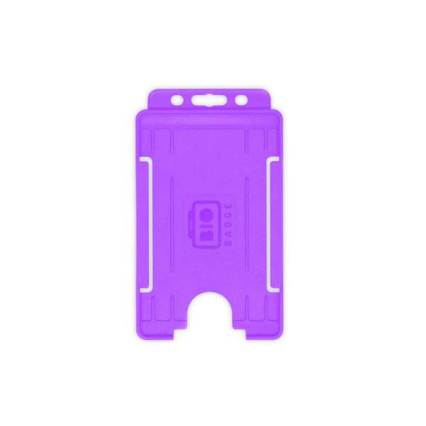 Purple Biodegradable ID Card Holder