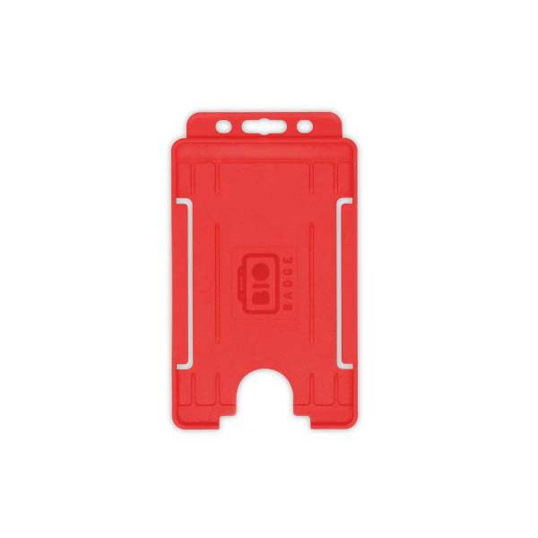 Red Biodegradable ID Card Holder