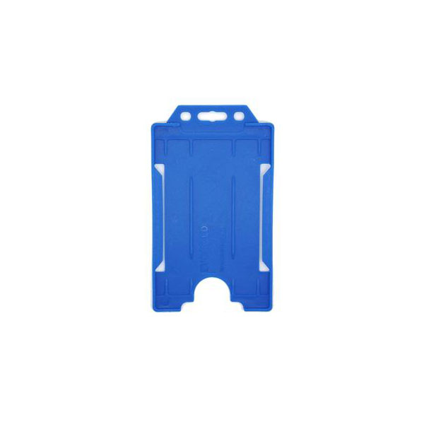 Royal Blue Antimicrobial ID Card Holder