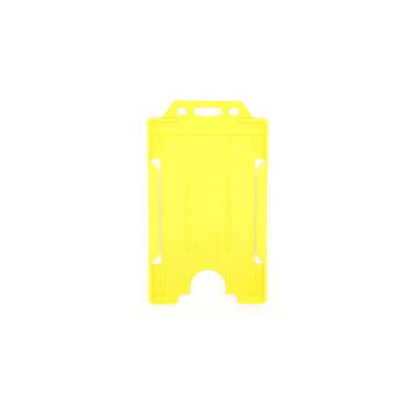 Yellow Antimicrobial ID Card Holder