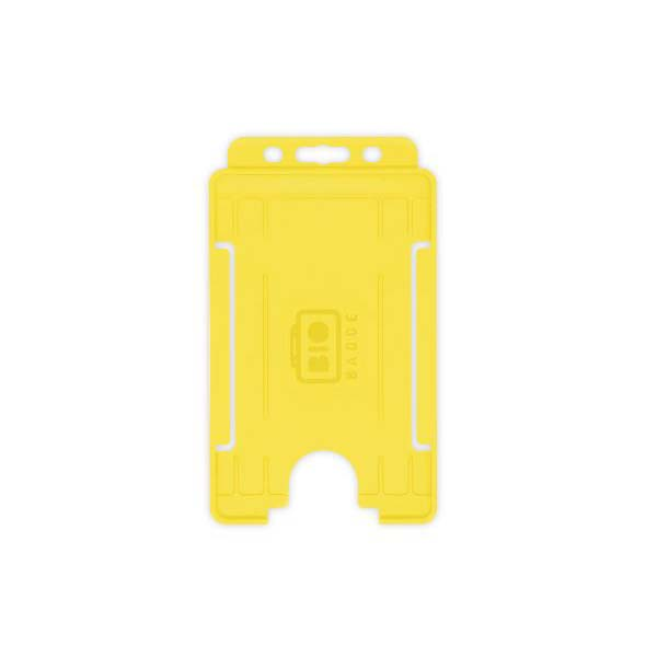 Yellow Biodegradable ID Card Holder