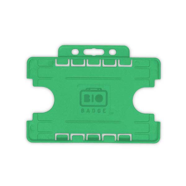 Green Biodegradable Double ID Card Holder