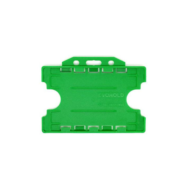 Green Double ID Card Holder