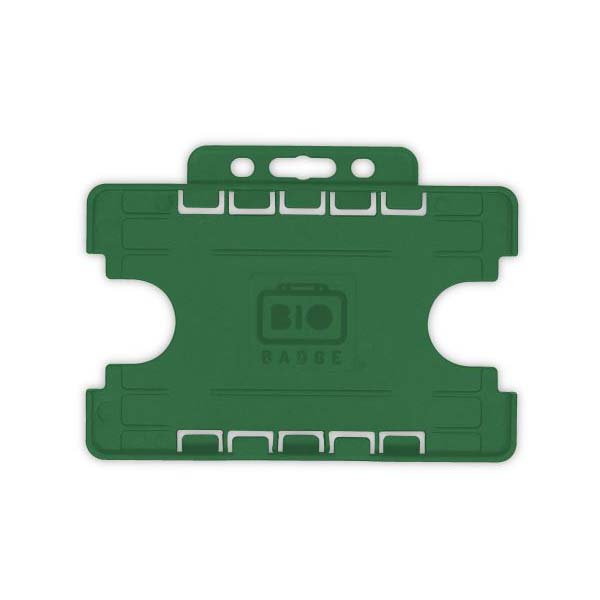 Racing Green Biodegradable Double ID Card Holder