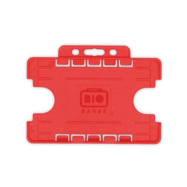 Red Biodegradable Double ID Card Holder
