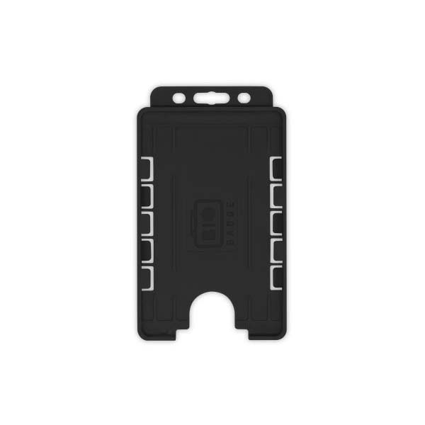 Black Biodegradable Double ID Card Holder