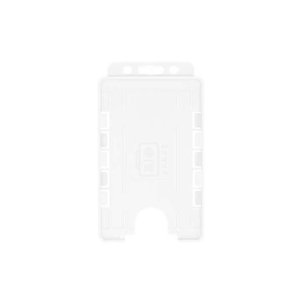 Clear Biodegradable Double ID Card Holder