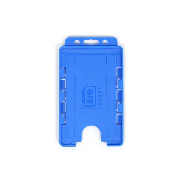 Cyan Biodegradable Double ID Card Holder