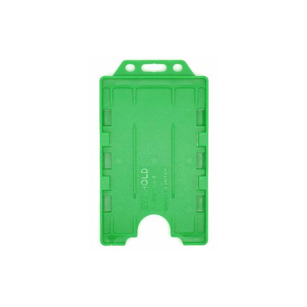Green Antimicrobial Double ID Card Holder