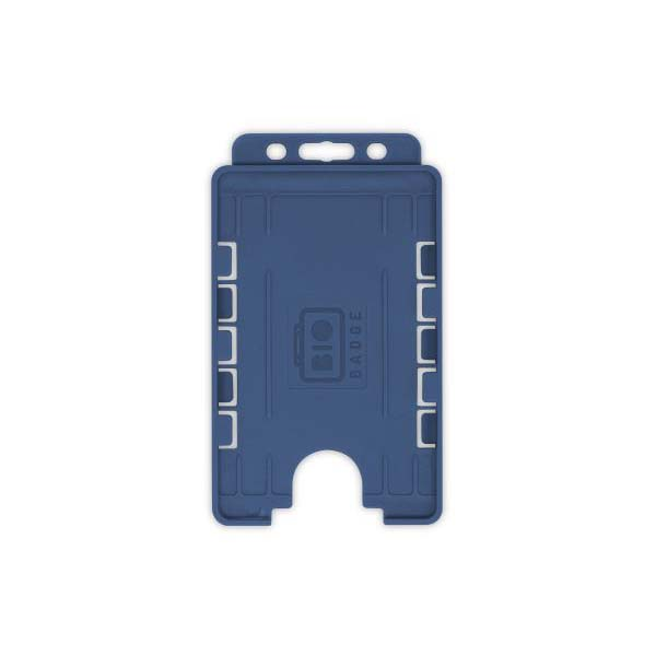 Navy Blue Biodegradable Double ID Card Holder