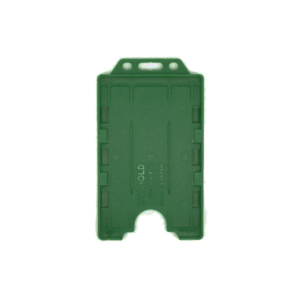 Racing Green Antimicrobial Double ID Card Holder