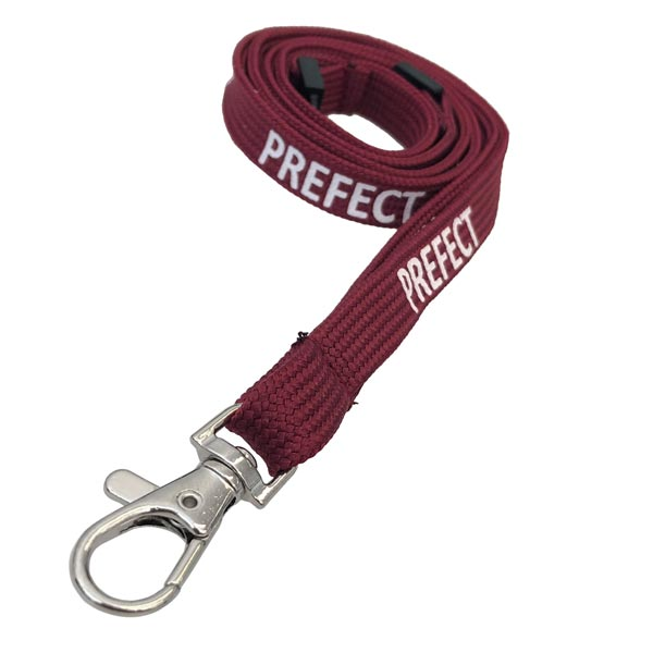 Burgundy Prefect Lanyard