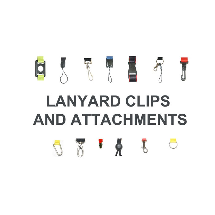Lanyard Clips & Attachments