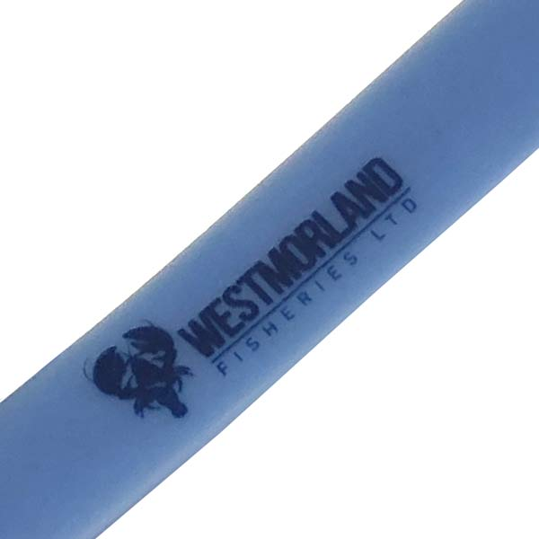 Custom Printed PVC Lanyard - Detail Showing Print
