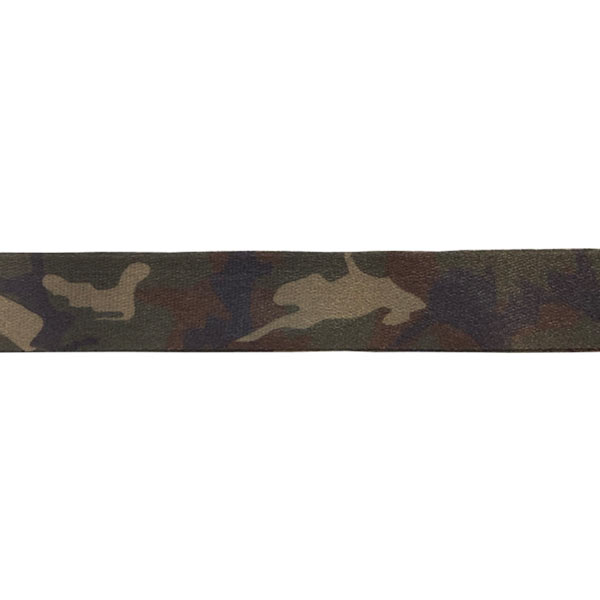 Forest Camouflage Lanyard - Print Detail