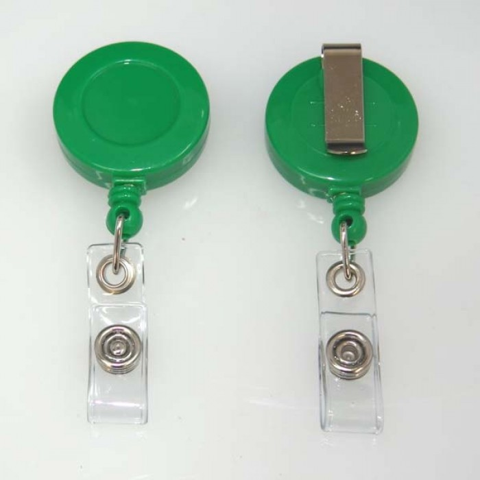 Green Ski Reel or Retractable Reel