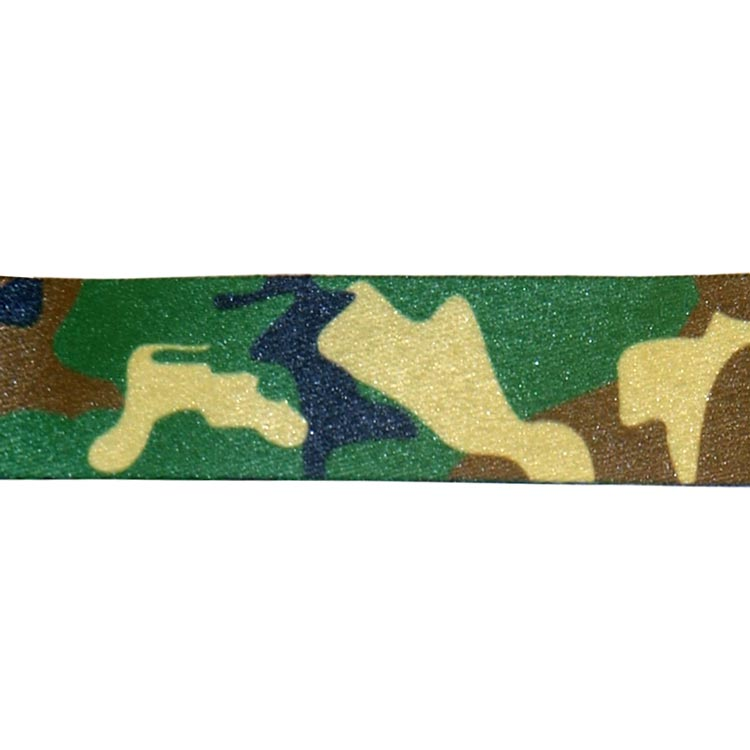 Jungle Camouflage Lanyard - Print Detail