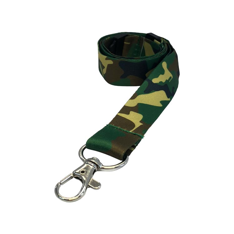Jungle Camouflage Lanyard