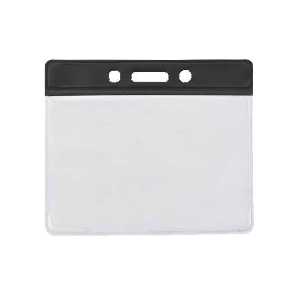 Black PVC Wallet