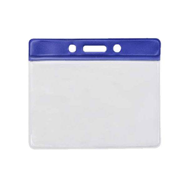 Blue PVC Wallet