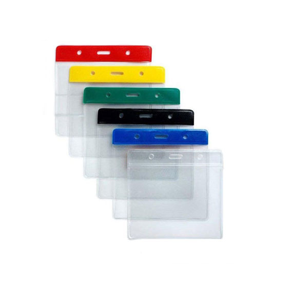 Coloured PVC Wallets - Landscape