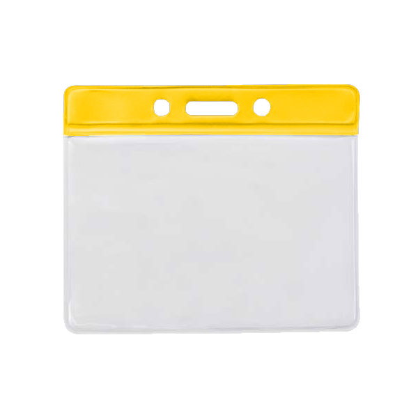 Yellow PVC Wallet
