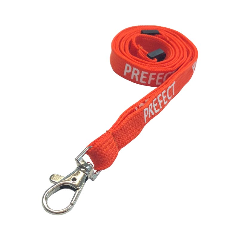 Orange Prefect Lanyard