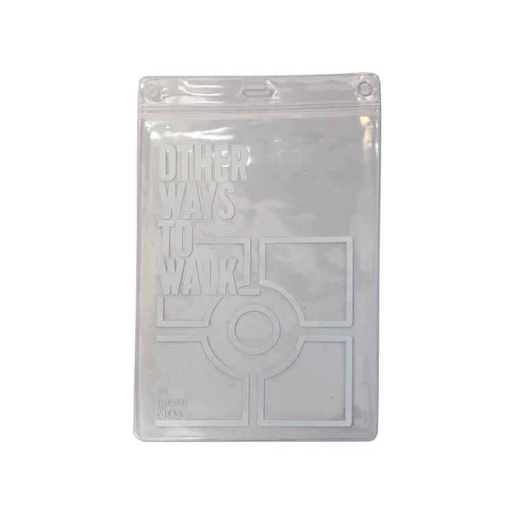 Printed PVC wallet