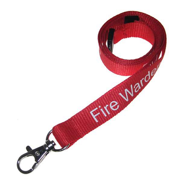 Fire Warden Lanyard