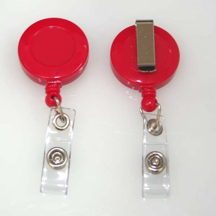 Red Ski Reel or Retractable Reel