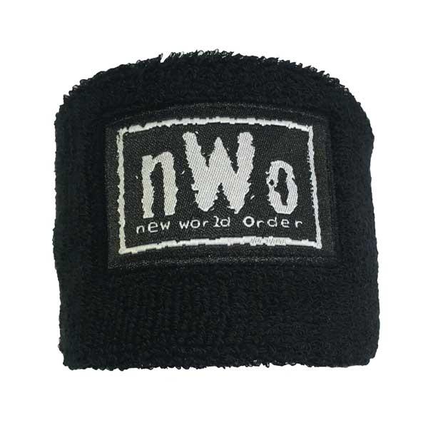 Wrist Sweatband With Branded Patch